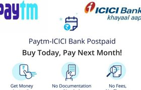 ICICI Bank and Paytm Join Hands to offer Short Term Instant Digital Credit Loan to Customers