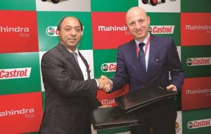 Mahindra & Mahindra signs strategic partnership with Castrol India
