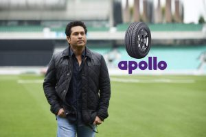Apollo Tyres signs Sachin Tendulkar as its first celebrity as Brand Ambassador