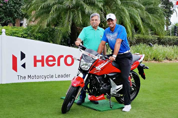 Hero MotoCorp Renews Deal With Tiger Woods as Global