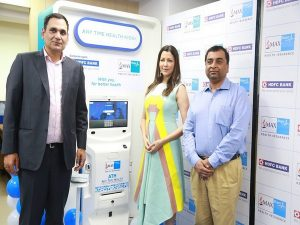 HDFC Bank and Max Bupa launch AnyTimeHealth Maachines to distribute Health Insurance Products