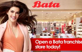 Bata, Bata Group, Bata Franchise Stores, Bata Stores, Brands, Footwear Brand, Footwear Company, Bata India Stock, Bata India, Bata India Stock Rises, Bata Footwear Manufacturer, Sandeep Kataria, Bata India Net Profit, franchise opportunities