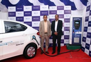 Tata Motors, Tata Power, Electric Vehicle Charging Station, Electric Vehicle Chargers, Electric Vehicle Charging Infrastructure, Tata Tigor Electric, Electric Vehicle Charging Station in India, Electric Cars