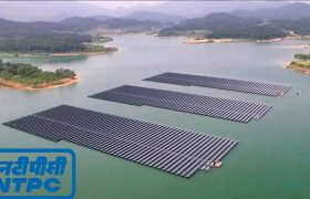 NTPC Gujarat, NTPC Kutch, NTPC Group, Tata Power, floating solar, floating solar plant, Japan solar plant, large solar plant, National Thermal Power Corporation, NTPC, solar plant, solar plant technology, water solar, worlds largest floating solar plant