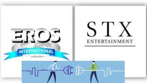 EROS INTERNATIONAL, HOLLYWOOD, BOLLYWOOD, EROS GROUP, EROS INTERNATIONAL MEDIA, MERGER, ENTERTAINMENT, ENTERTAINMENT INDUSTRY, OTT PLATFORMS, EROS DIGITAL, EROS, EROS NOW, EROS INTERNATIONAL PLC, MDEIA COMPANIES, GLOBAL NEWS, STX Filmworks, global Indian entertainment company, Film Studios, Hollywood Studios, Kishore Lulla, Robert Simonds, NYSE, BSE, NSE, BOLLYWOOD FILMS, HOLLYWOOD MOVIES