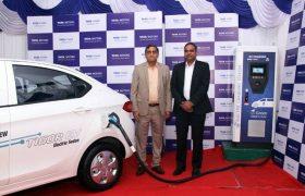 Tata Motors, Tata Power, Electric Vehicle Charging Station, Electric Vehicle Chargers, Electric Vehicle Charging Infrastructure, Tata Tigor Electric, Electric Vehicle Charging Station in India, Electric Cars